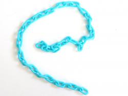 Acheter Chaîne en acrylique - 13 x 8 mm - bleu vif x 38 cm - 0,99€ en ligne sur La Petite Epicerie - Loisirs créatifs