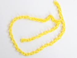 Acheter Chaîne en acrylique - 5 x 6 mm - jaune x 38 cm - 0,79€ en ligne sur La Petite Epicerie - Loisirs créatifs
