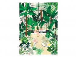 Acheter Affiche aquarelle - Butterfly Greenhouse - 50 x 70 cm - ATWS - 44,99€ en ligne sur La Petite Epicerie - Loisirs créa...