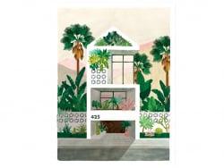 Acheter Affiche aquarelle - Dreamhouse - 50 x 70 cm - ATWS - 44,99€ en ligne sur La Petite Epicerie - Loisirs créatifs