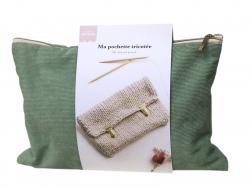Acheter KIT DIY MERCERIE - °Ma pochette tricotée - 22,99€ en ligne sur La Petite Epicerie - Loisirs créatifs