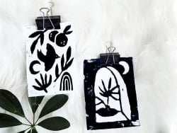 Acheter KIT DIY DECO - °Mes cartes en linogravure - 19,99€ en ligne sur La Petite Epicerie - Loisirs créatifs