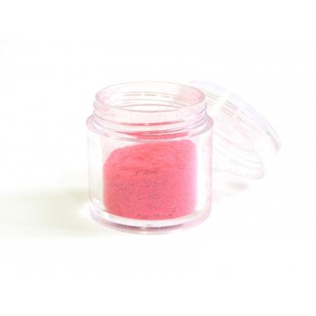 Velvety fake sugar for candyfloss - red