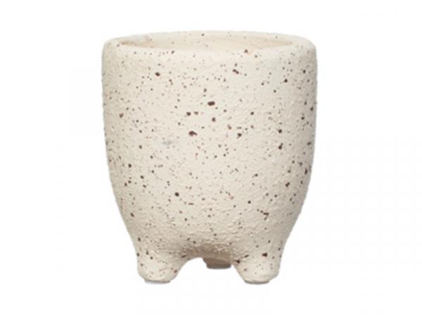 Acheter Pot pour plante à pieds - beige 9,5 cm - 5,99€ en ligne sur La Petite Epicerie - Loisirs créatifs