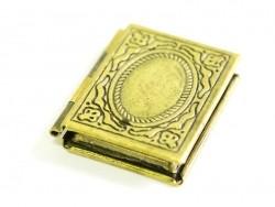 Acheter 1 breloque livre portraits - couleur bronze - 2,95€ en ligne sur La Petite Epicerie - 100% Loisirs créatifs