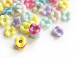Acheter Lot de 50 perles empilables rondes - 1,99€ en ligne sur La Petite Epicerie - Loisirs créatifs