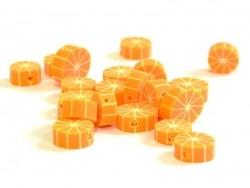 20 Orangenperlen (geschälte Orangen)