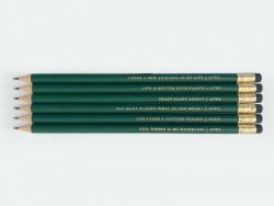 Acheter Set de 6 crayons de bois - Plant addict - ATWS - 12,89€ en ligne sur La Petite Epicerie - Loisirs créatifs