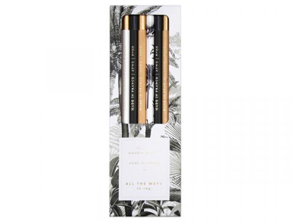 Acheter Set de 6 crayons de bois - Black forest - ATWS - 12,89€ en ligne sur La Petite Epicerie - Loisirs créatifs