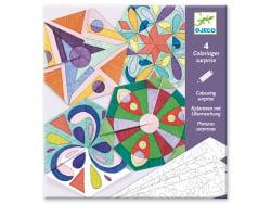 Acheter Pochette de coloriages surprises - Mandalas rosaces - 4,49€ en ligne sur La Petite Epicerie - Loisirs créatifs