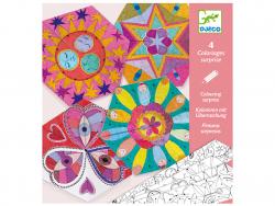 Acheter Pochette de coloriages surprises - Mandalas constellations - 4,49€ en ligne sur La Petite Epicerie - Loisirs créatifs