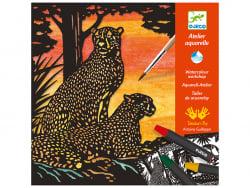 Acheter Atelier aquarelle animaux sauvages - A contre-jour - 21,99€ en ligne sur La Petite Epicerie - Loisirs créatifs