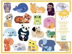Acheter Grosses gommettes pour les tout-petits - Mamans Bébés animaux - 4,90€ en ligne sur La Petite Epicerie - Loisirs créa...