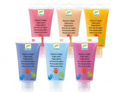 Acheter 6 tubes de peinture à doigts Sweet - 15,99€ en ligne sur La Petite Epicerie - Loisirs créatifs