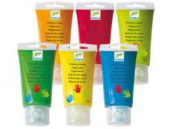 Acheter 6 tubes de peinture à doigts pour enfants - 15,99€ en ligne sur La Petite Epicerie - Loisirs créatifs