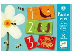 Acheter Puzzle duo Chiffres - 8,49€ en ligne sur La Petite Epicerie - Loisirs créatifs