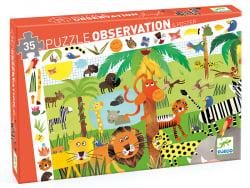 Acheter Puzzle La Jungle - 35 pcs - 13,99€ en ligne sur La Petite Epicerie - Loisirs créatifs