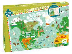 Acheter Puzzle Tour du monde 200pcs + livret - FSC MIX - 16,99€ en ligne sur La Petite Epicerie - Loisirs créatifs