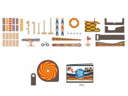 Acheter Jeu de réaction en chaîne - Zig & Go - Wroom - 45 pcs - 58,99€ en ligne sur La Petite Epicerie - Loisirs créatifs