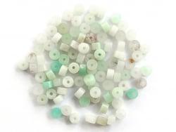 Acheter 100 perles heishi naturelles 4 mm - amazonite - 6,99€ en ligne sur La Petite Epicerie - Loisirs créatifs