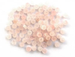 Acheter 100 perles heishi naturelles 4 mm - quartz rose - 5,79€ en ligne sur La Petite Epicerie - Loisirs créatifs