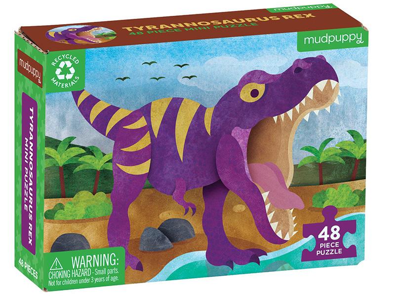 Acheter Puzzle 48 pièces - Tyrannosaurus Rex - 6,99€ en ligne sur La Petite Epicerie - Loisirs créatifs