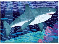 Acheter Puzzle 48 pièces / Requin blanc - 6,99€ en ligne sur La Petite Epicerie - Loisirs créatifs