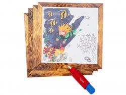 Acheter Coffret peinture magique à l'eau pour bébé - Océan - 10,00€ en ligne sur La Petite Epicerie - Loisirs créatifs