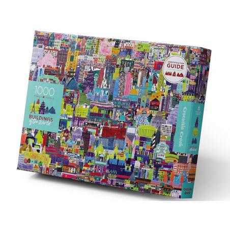 Acheter Puzzle 1000 pièces - Buildings of The World - 24,99€ en ligne sur La Petite Epicerie - Loisirs créatifs