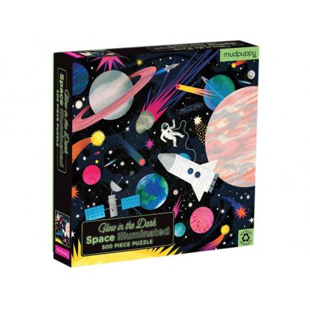 Acheter Puzzle 500 pièces - Cosmos - Phosphorescent - 19,89€ en ligne sur La Petite Epicerie - Loisirs créatifs