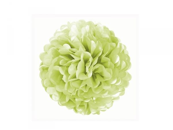 Tissue paper pom-pom (20 cm) - apple green