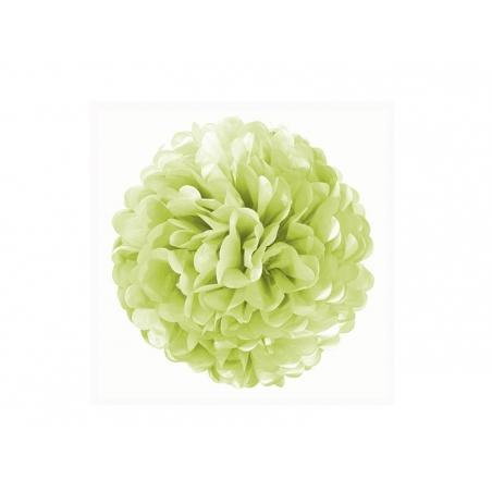 Acheter Pompon en papier de soie 20 cm - vert pomme - 2,69€ en ligne sur La Petite Epicerie - Loisirs créatifs