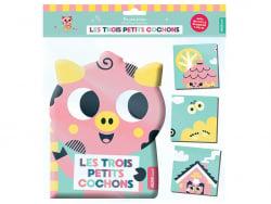 Acheter Livre + puzzle de bain - les trois petits cochons - 9,95€ en ligne sur La Petite Epicerie - Loisirs créatifs