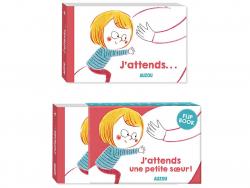 Acheter j'attends une petite sœur - flip book - 4,95€ en ligne sur La Petite Epicerie - Loisirs créatifs