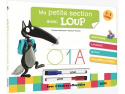 Acheter Livre-ardoise ma petite section avec Loup - 7,50€ en ligne sur La Petite Epicerie - Loisirs créatifs