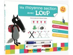 Acheter Livre-ardoise ma moyenne section avec Loup - 7,50€ en ligne sur La Petite Epicerie - Loisirs créatifs