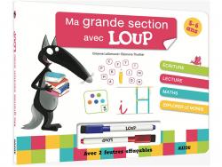 Acheter Livre-ardoise ma grande section avec Loup - 7,50€ en ligne sur La Petite Epicerie - Loisirs créatifs