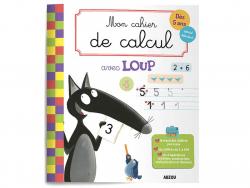 Acheter mon cahier de calcul avec loup - 4,95€ en ligne sur La Petite Epicerie - Loisirs créatifs