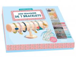 Acheter Coffret créatif - mon semainier de 7 bracelets - 15,95€ en ligne sur La Petite Epicerie - Loisirs créatifs