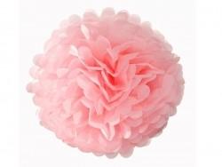Pompon aus Seidenpapier (30 cm) - hellrosa