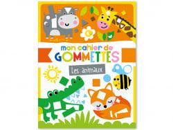 Acheter mon cahier de gommettes - les animaux - 5,50€ en ligne sur La Petite Epicerie - Loisirs créatifs