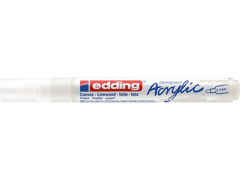 Acheter Edding Acrylic 5100 - Marqueur acrylique à pointe moyenne - blanc - 3,79€ en ligne sur La Petite Epicerie - Loisirs ...