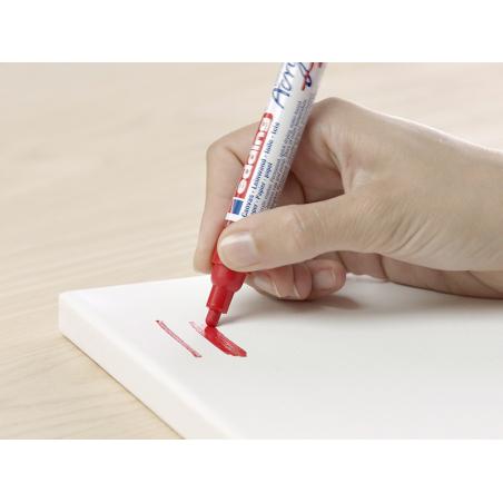 Acheter Edding Acrylic 5100 - Marqueur acrylique à pointe moyenne - rouge - 3,79€ en ligne sur La Petite Epicerie - Loisirs ...