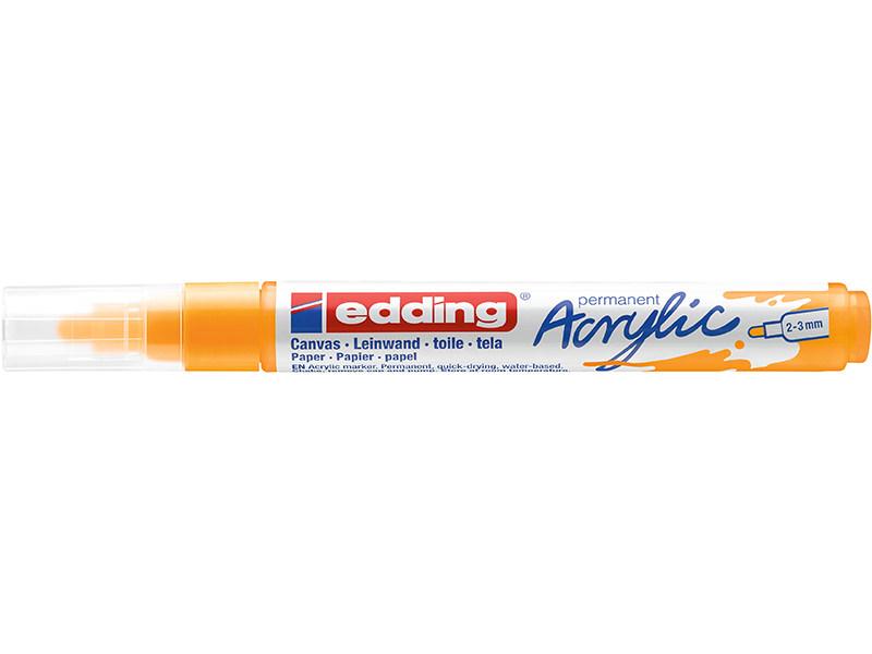 Acheter Edding Acrylic 5100 - Marqueur acrylique à pointe moyenne - jaune soleil - 3,79€ en ligne sur La Petite Epicerie - L...