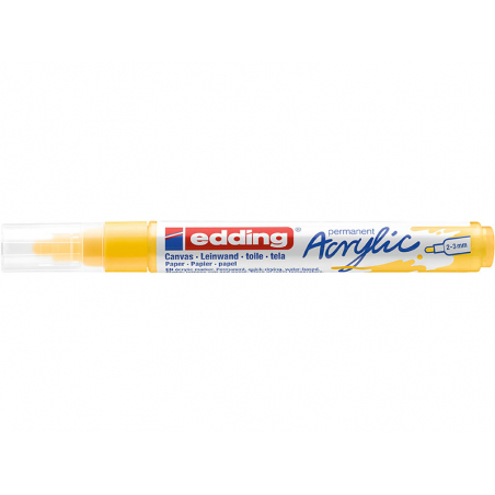 Acheter Edding Acrylic 5100 - Marqueur acrylique à pointe moyenne - jaune - 3,79€ en ligne sur La Petite Epicerie - Loisirs ...
