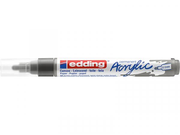 Acheter Edding Acrylic 5100 - Marqueur acrylique à pointe moyenne - gris anthracite - 3,79€ en ligne sur La Petite Epicerie ...