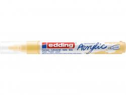 Acheter Edding Acrylic 5100 - Marqueur acrylique à pointe moyenne - jaune pastel - 3,79€ en ligne sur La Petite Epicerie - L...