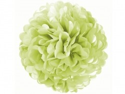Tissue paper pom-pom (35 cm) - apple green