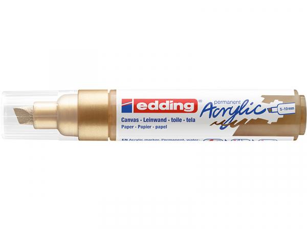 Acheter Edding Acrylic 5000 - Marqueur acrylique à pointe large - or précieux - 5,79€ en ligne sur La Petite Epicerie - Lois...