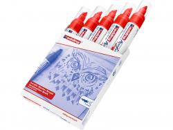 Acheter Edding Acrylic 5000 - Marqueur acrylique à pointe large - rouge - 5,79€ en ligne sur La Petite Epicerie - Loisirs cr...